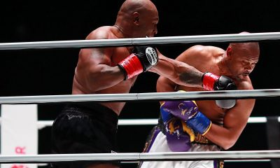 Iron Mike Tyson Exhibition Fight With Roy Jones Jr Ends In Draw [VIDEOS]