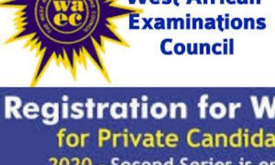 BREAKING: WAEC Extends Deadline For 2020 WASSCE Registration Second Series