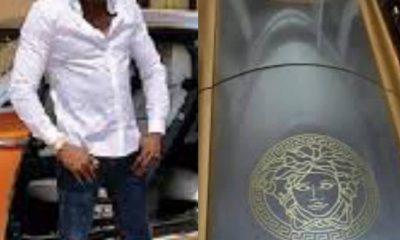 PHOTOS: Extravagant Socialite, Ginimbi Buried In Versace-Engraved Coffin Worth N4.5M [Video]