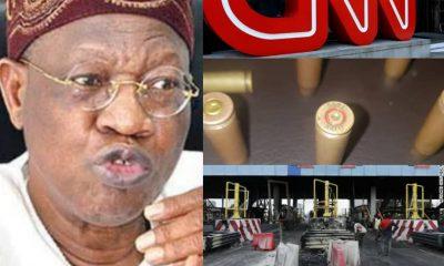 BREAKING: Lai Mohammed Fires Back At CNN Over Investigative Report On Lekki Shootings – #LekkiGenocide