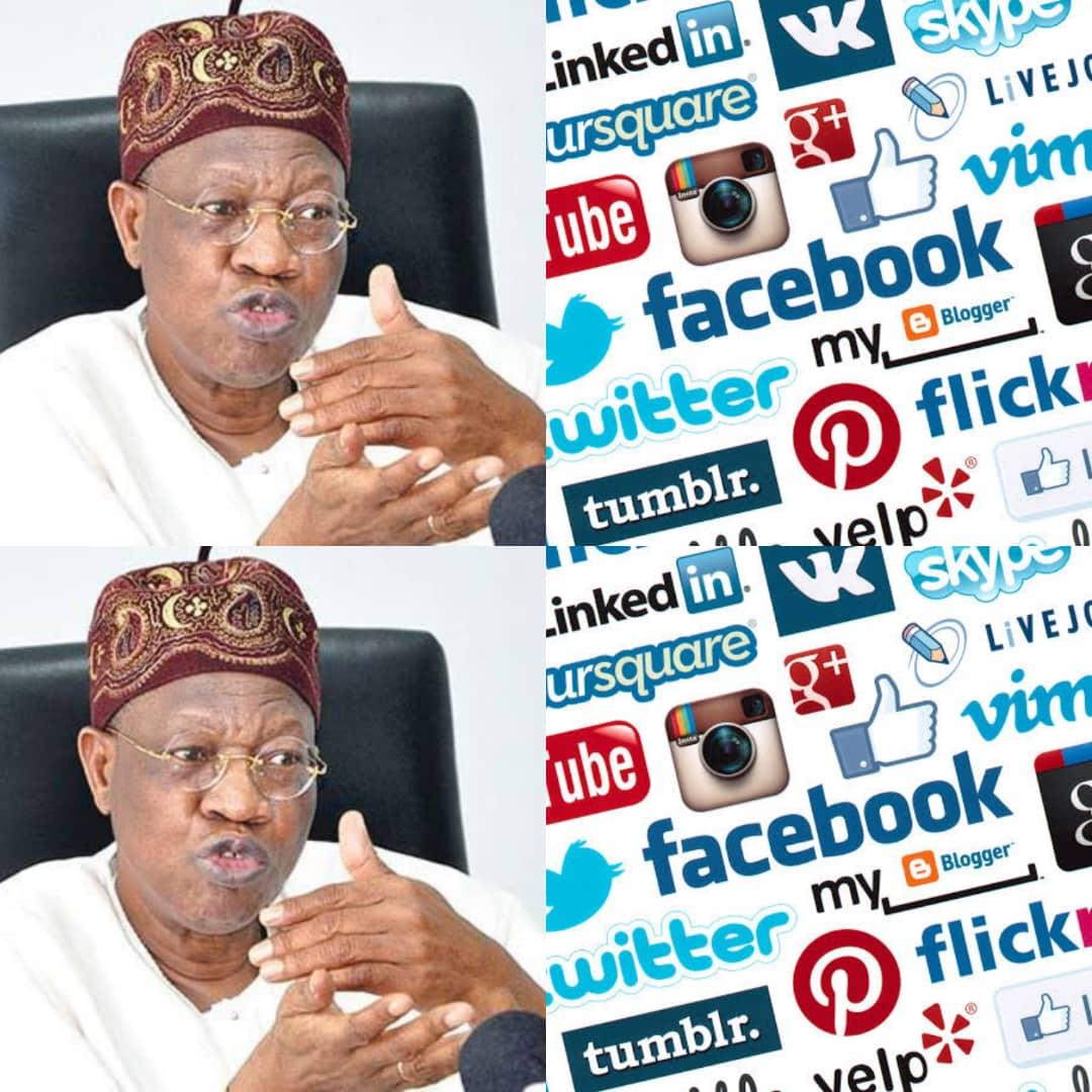 BREAKING: Social Media Regulation Is A Must In Nigeria, Says FG