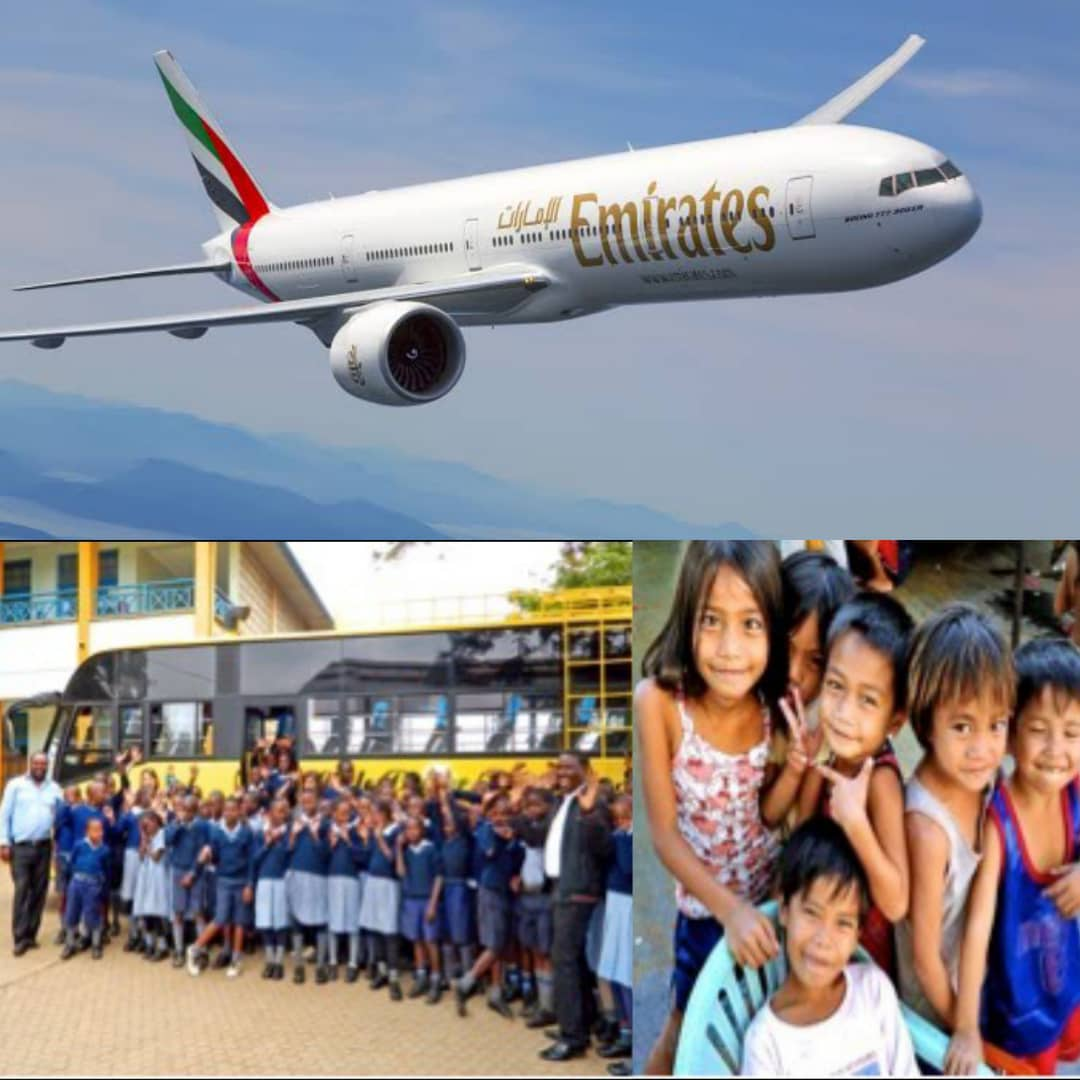 WORLD CHILDREN'S DAY: Emirates Spotlights The Work Of Its Foundation Partners In Improving The Welfare Of Children Around The World