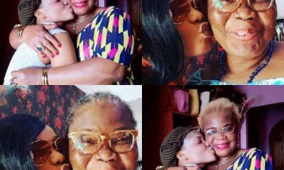 Celebrity Nollywood Actress Iyabo Ojo Loses Mum