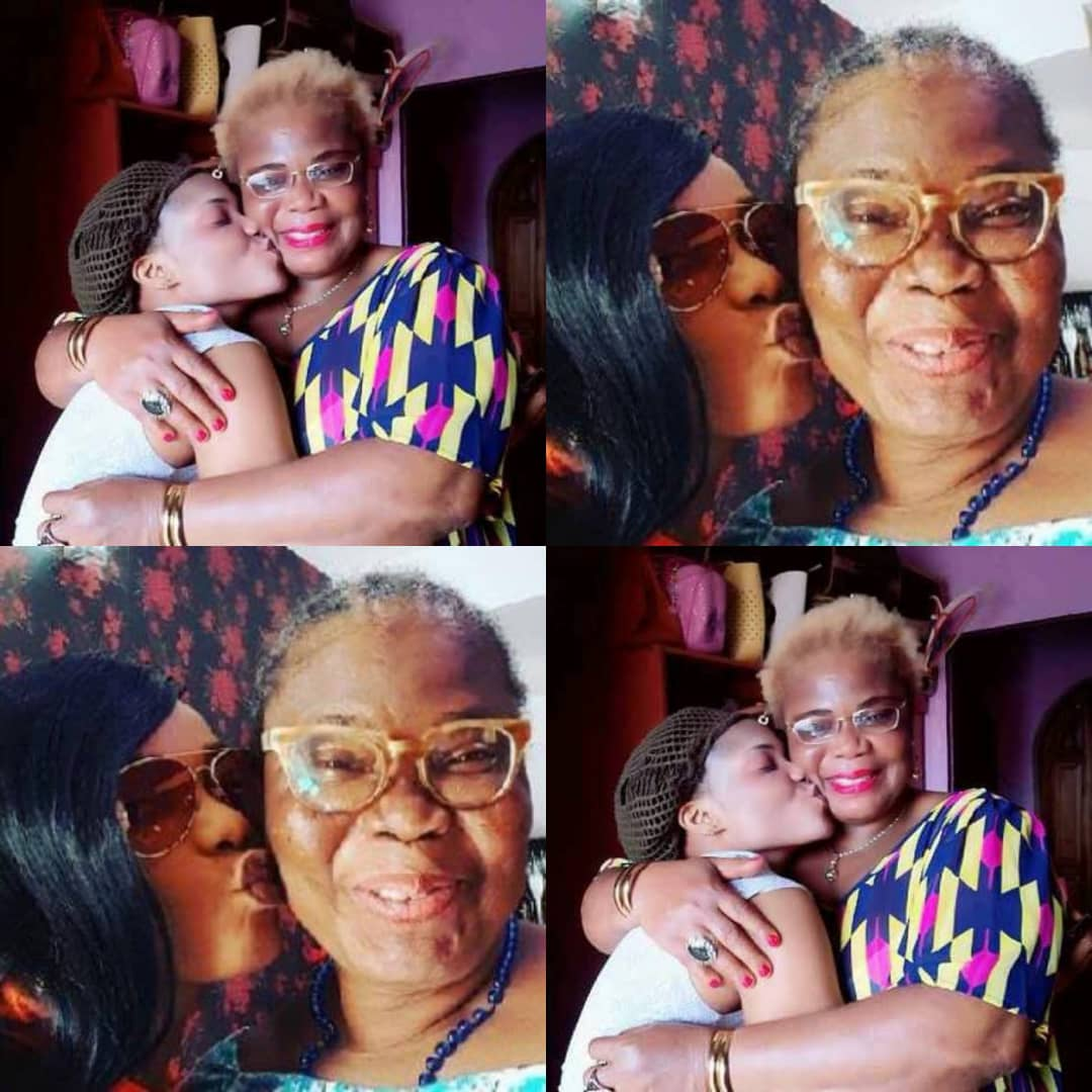 Celebrity Nollywood Actress Iyabo Ojo Loses Mum