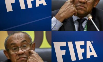 BREAKING: End Of The Road As FIFA Bans CAF President Ahmad For 5 Years