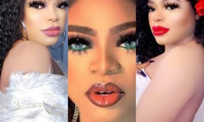 Controversial CrossDresser, Bobrisky Shares Video Of Himself And His Mystery Lover In Bed