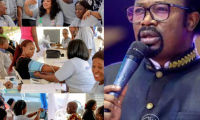 Prophet Joshua Iginla And US Medical Team Offer Free Healthcare For All PHOTOS]