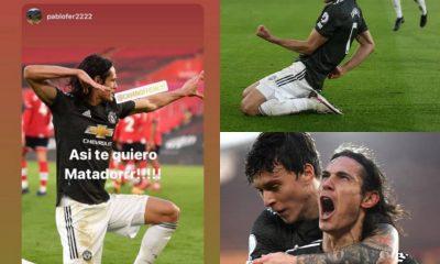 #SOUMUN: FA To Investigate Cavani After Brace In Man United To Comeback Win