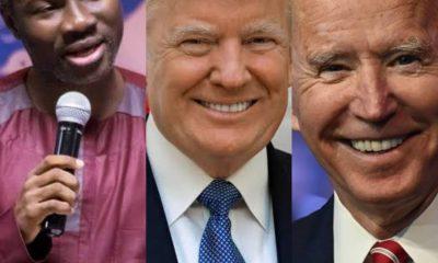 REVELATION!!! Trump Will Be Sworn In Despite Joe Biden Won The Election, Says Ghanaian Prophet [VIDEO]