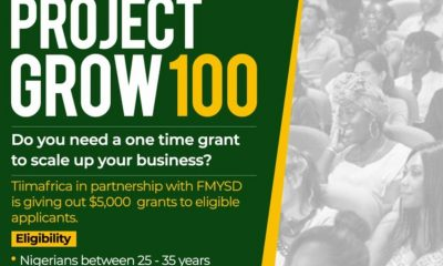 APPLY HERE!!! Federal Government Opens Portal For $5000 Grant To Youths