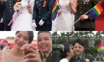 Taiwan's First Military Female Gay Couples [Photos]