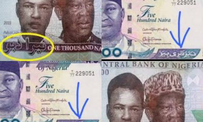 Why We Cannot Remove Arabic Inscription From Naira Note, CBN Tells Court