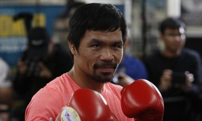 Legendary Boxer, Pacquiao Takes Over As Head Of Philippine Ruling Party