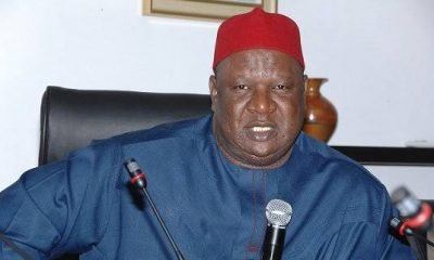 ANYIM: Umahi Fighting Me And Other PDP Bigwigs For Refusing To Join Him In APC -