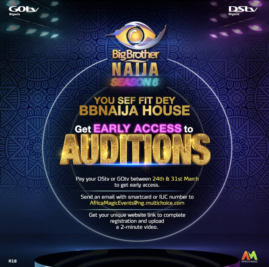 Six Fact You Need To Know About Early Access Auditions Of BBNaija Season 6