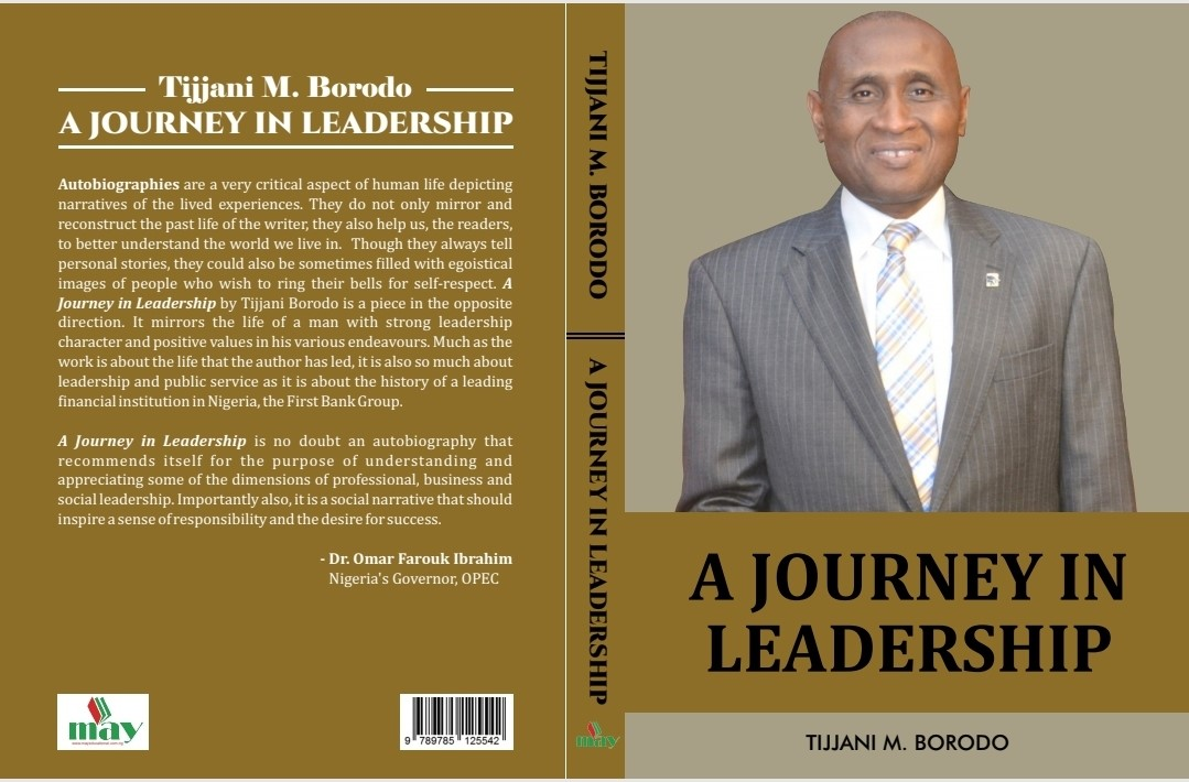 Tijjani Borodo Shares His Career Experience, Publishes Book, A Journey In Leadership