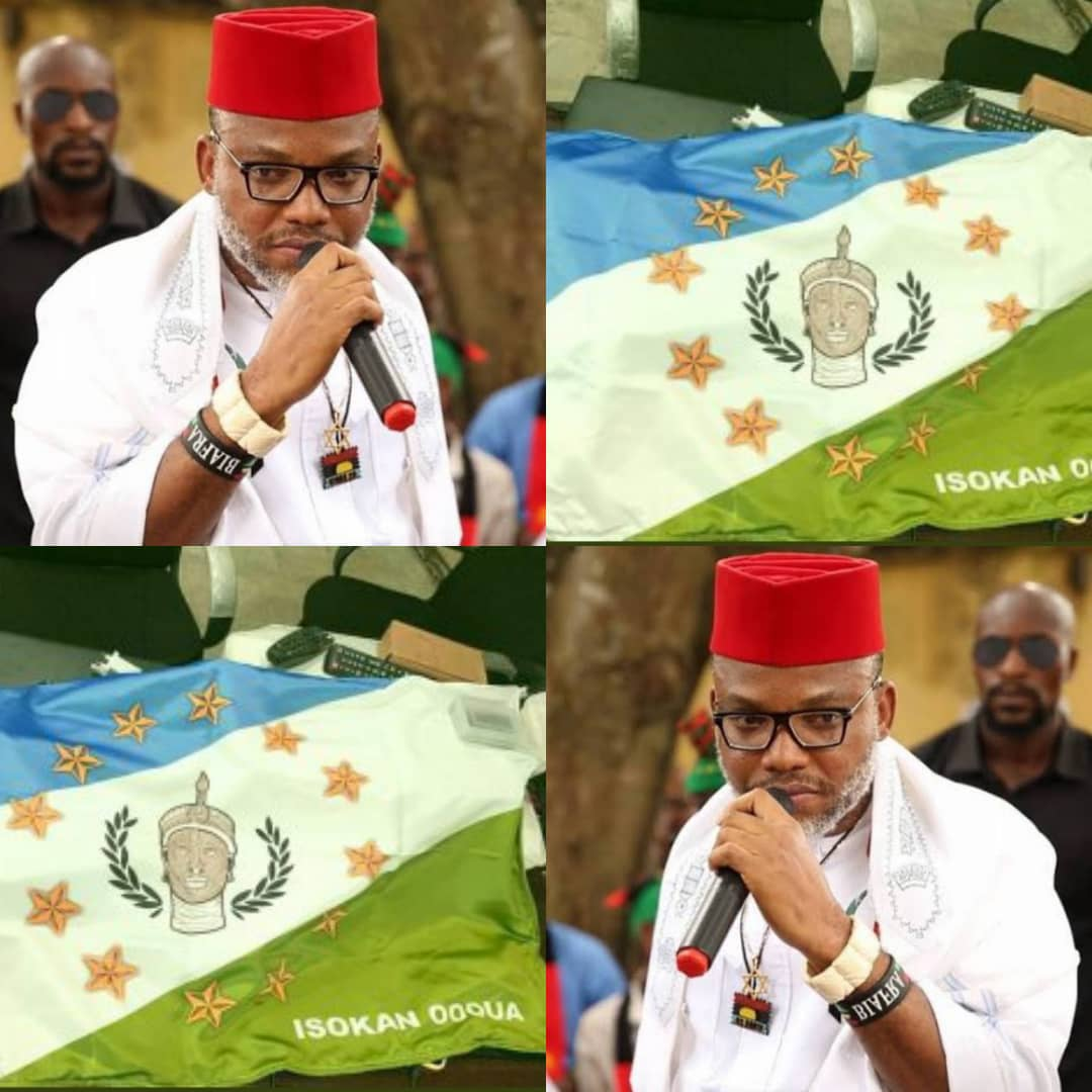 Nnamdi Kanu And IPOB Vows To Support Yoruba Group's One Million Man March