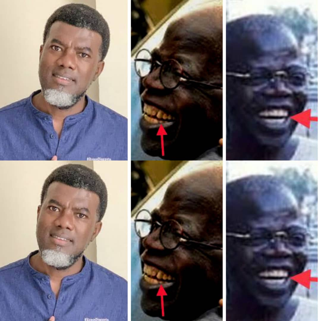 BREAKING: Reno Omokri Compares Bola Tinubu's Brown Teeth With eBola Virus