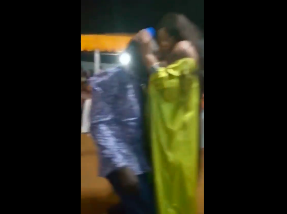 DISGUSTING!!! Moment Female Pastor Gives Man Br*ast To S*ck For Healing [VIDEO]