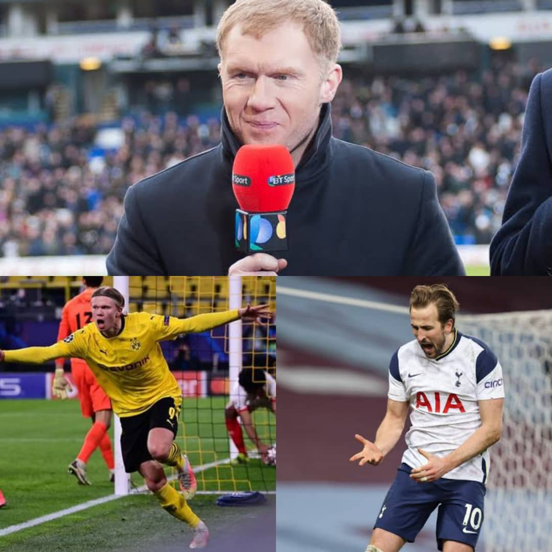 Paul Scholes Names Player Man United Should Sign Between Harry Kane Vs Haaland