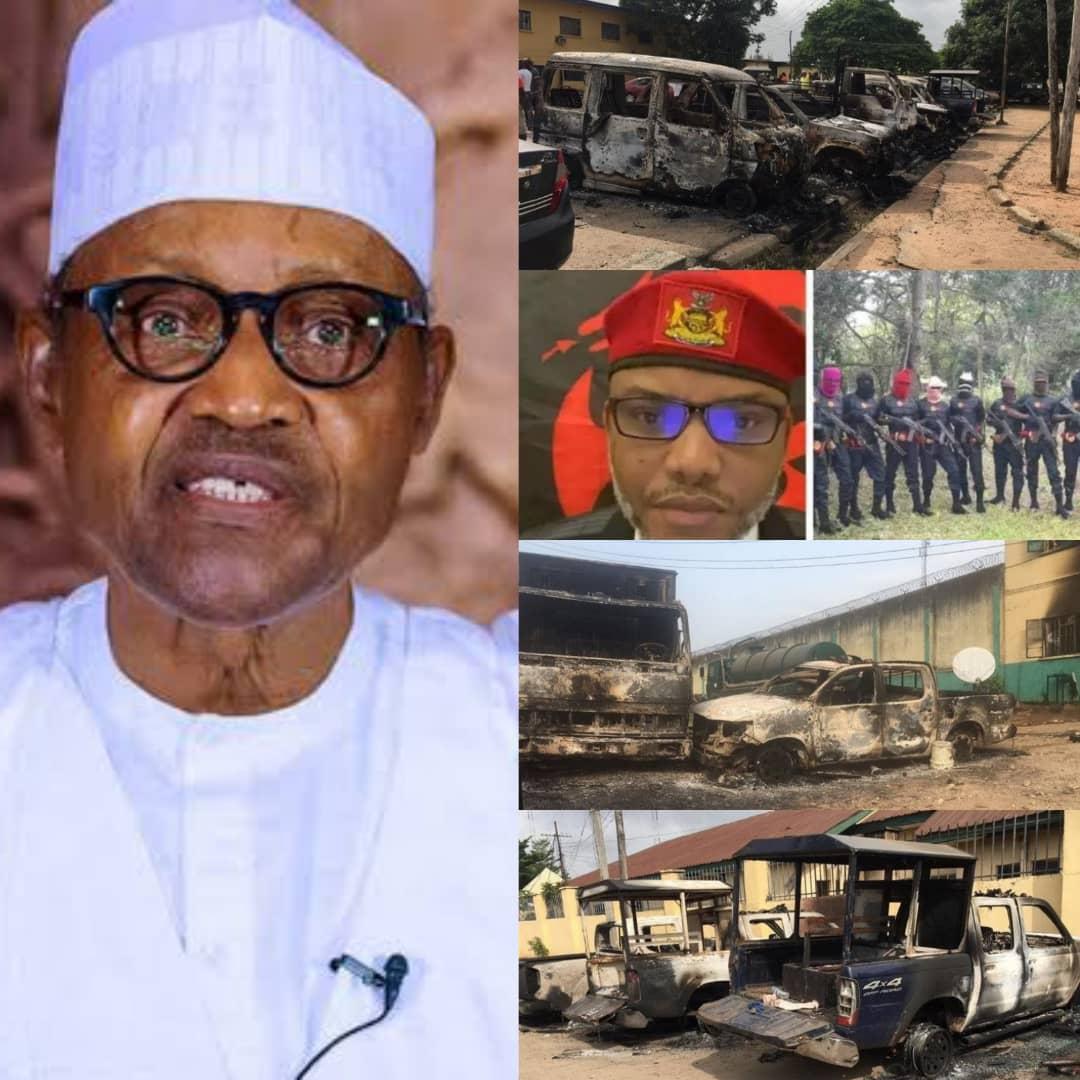 BREAKING: Buhari Orders Arrest Of IPOB And ESN Members Over Owerri Prison Break