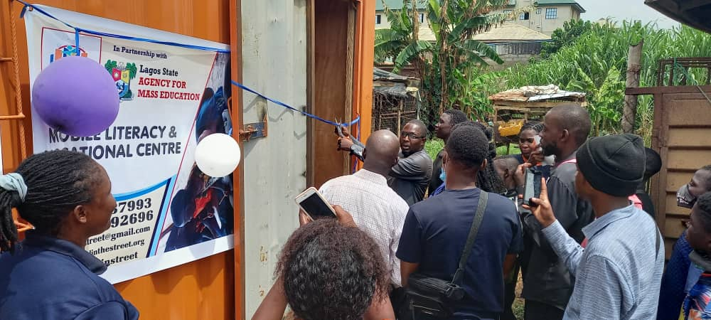 Non Profit School, Lagos State Government Opens Mobile Literacy And Vocational Centre For Street Children In Ikorodu