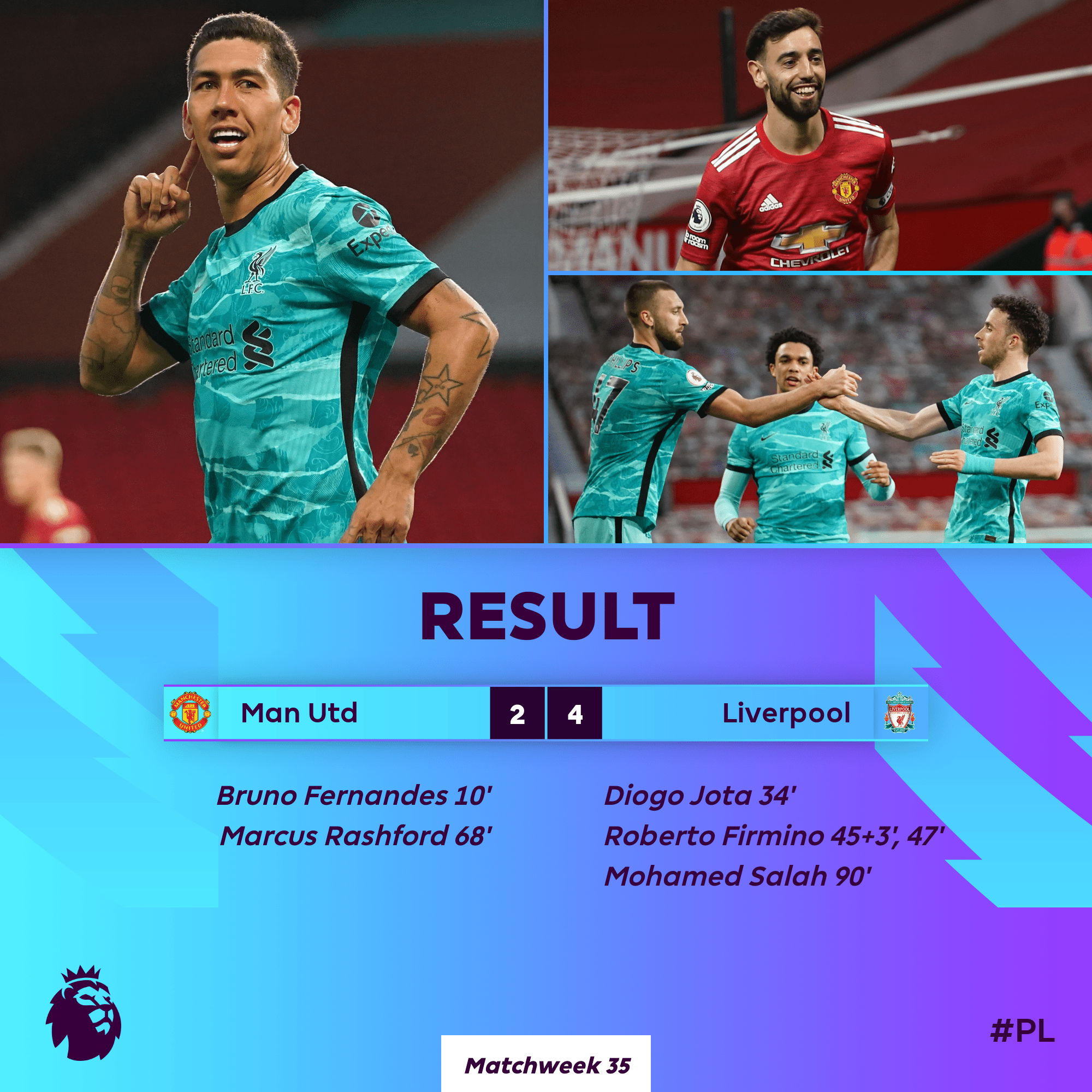 BREAKING: Liverpool Humiliates Man United At Old Trafford - #MUNLIV